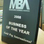 GoldPeg awarded Business of the Year 2008