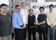 Hoko receive the 100th Gold Peg cooking system