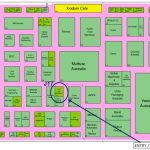 Foodpro 2014 map to Gold Peg