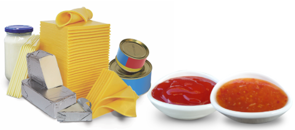 Processed cheese and sauces