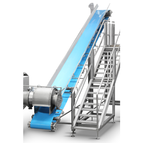 Hygienic conveyor food processing equipment