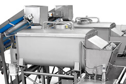 Twin Ribbon Blenders food processing equipment