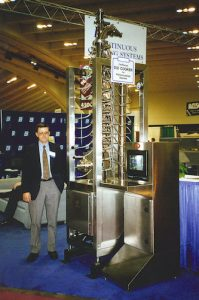 Bob Smith and RotaTherm on show in 90s