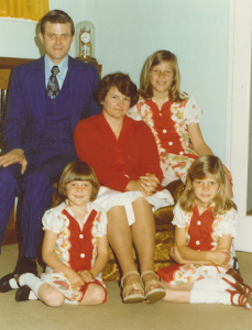 Bob Smith and family 1970s