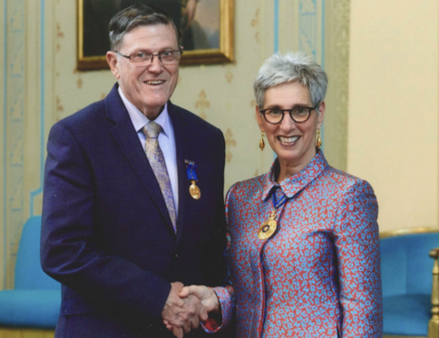 Gold Peg founder Robert Smith honoured with OAM